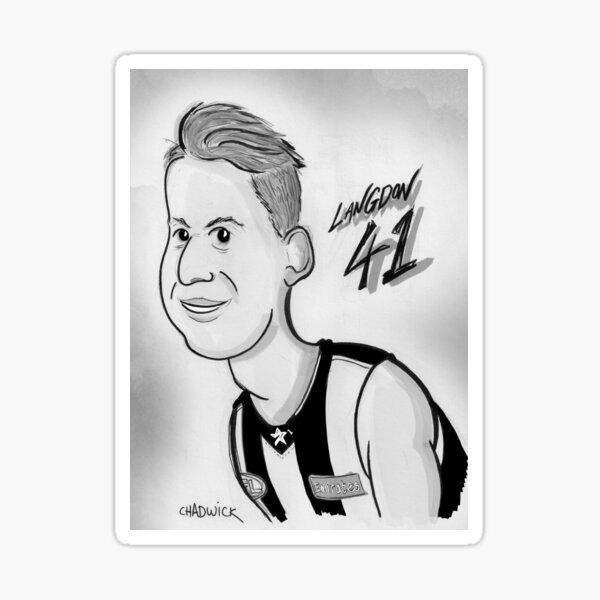 Tom Langdon Sticker