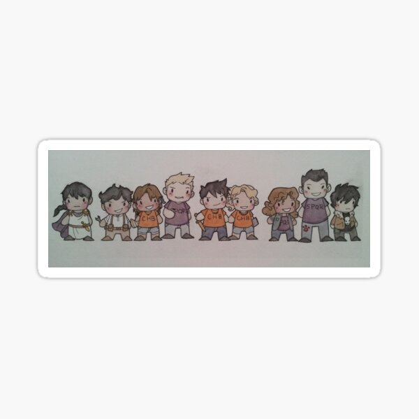 Seven Plus Two.  Sticker