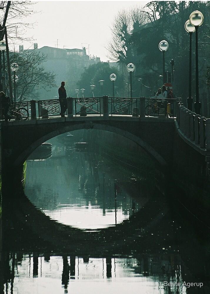 Small bridge.. by Bente Agerup