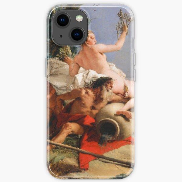 Giovanni Battista Tiepolo. Apollo Pursuing Daphne, 1755-60. iPhone Soft Case