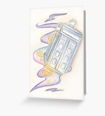 Timey wimey stuff Greeting Card