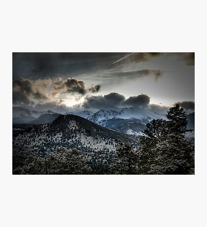 Spring Storm Photographic Print