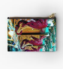 Dragons of Leeds Market bywhacky Studio Pouch