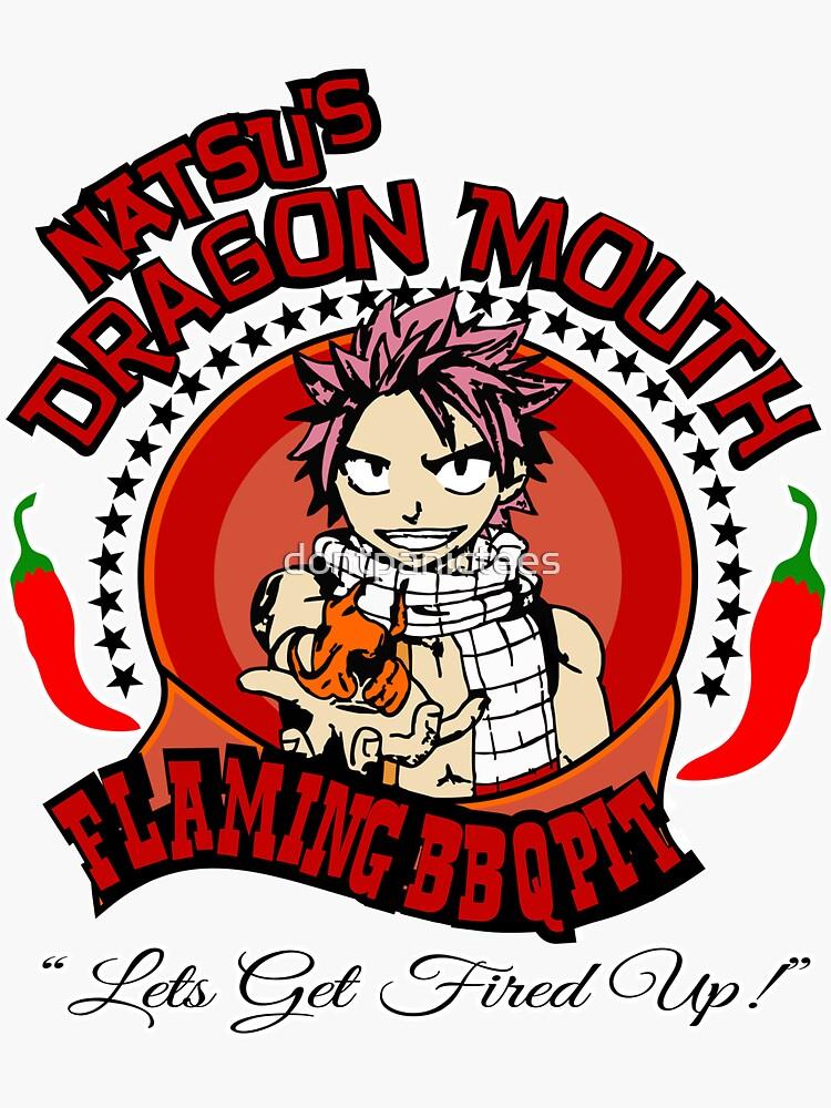 Natsu BBQ FairyTale Anime by dontpanictees