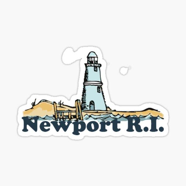 Newport Beach - Rhode Island. Sticker