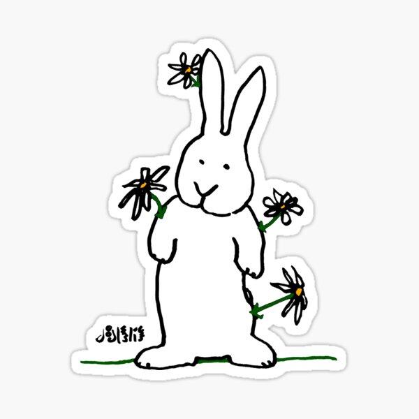Daisy - Bunny Sticker