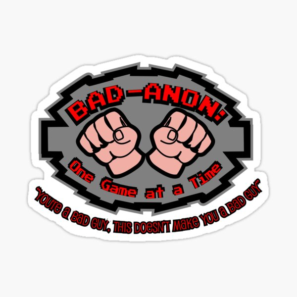 Wreck it ralph Bad Anon Sticker