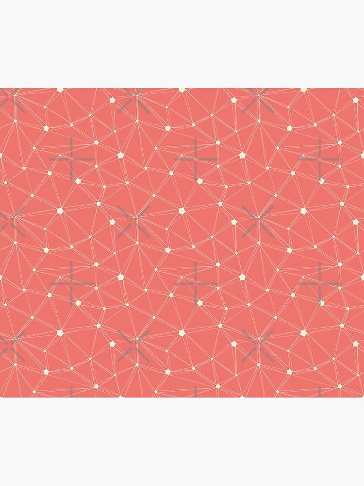 Pentagon grid coral by nobelbunt