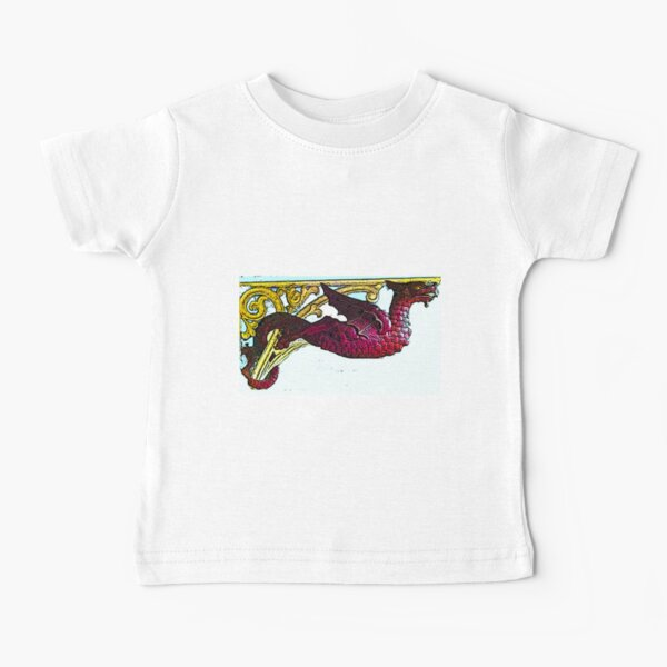 Leeds Market Dragon bywhacky Baby T-Shirt