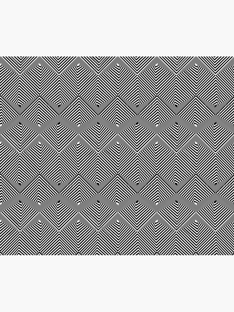 optical illusion pattern by nobelbunt