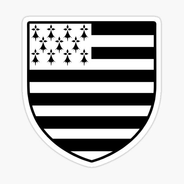 blason breton bretagne breizh bzh Sticker