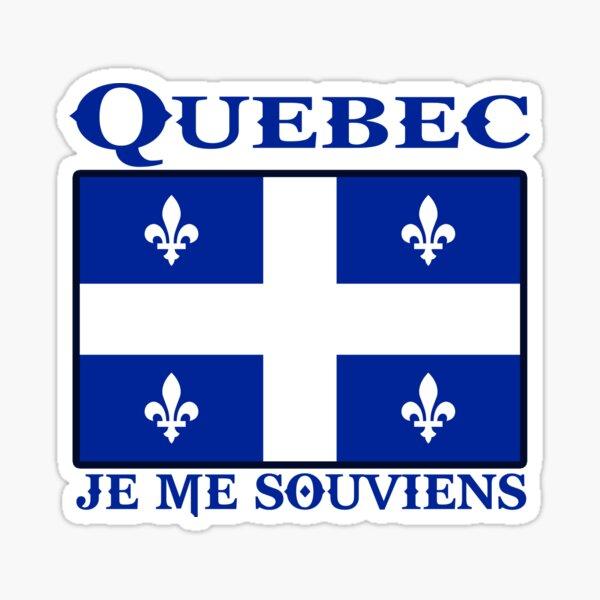 québec canada je me souviens montréal Sticker