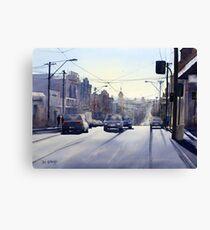 Early Morning Bridge Street, Melbourne Canvas Print