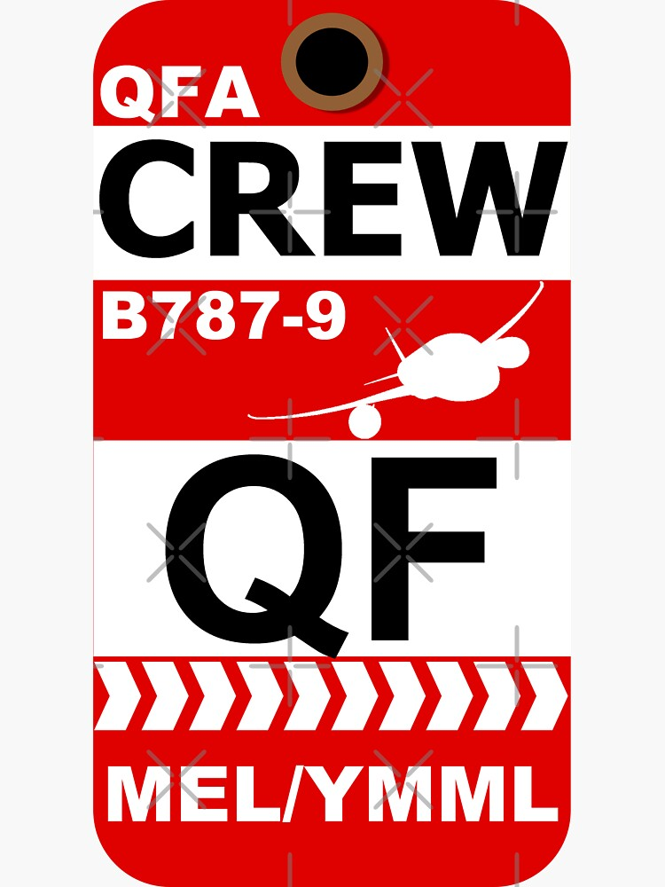 QF Boeing 787-9 Crew Melbourne by AvGeekCentral