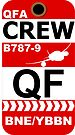 QF Boeing 787-9 Crew Brisbane by AvGeekCentral