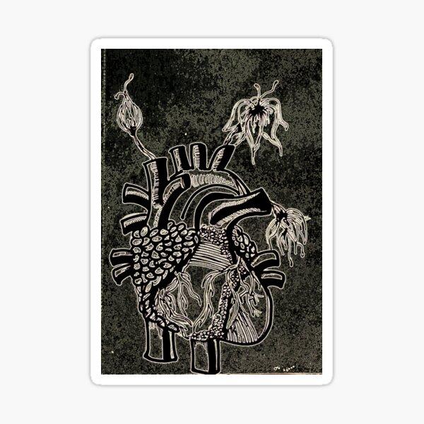 My Inverted Heart Sticker