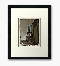 Counting Drugs Framed Print