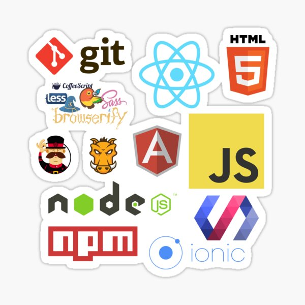 Javascript Stickers, Mugs, T-shirts and Phone cases Sticker