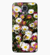 Candy Coloured Daisies Case/Skin for Samsung Galaxy