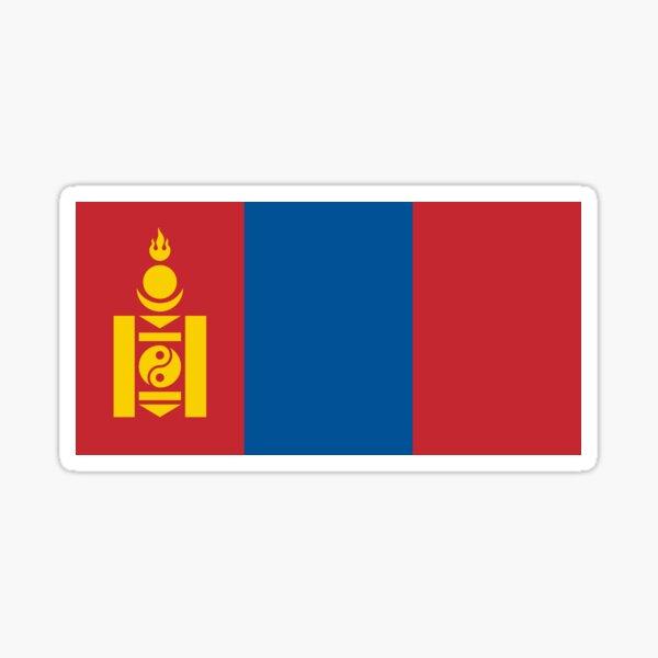 National Flag of Mongolia  Sticker