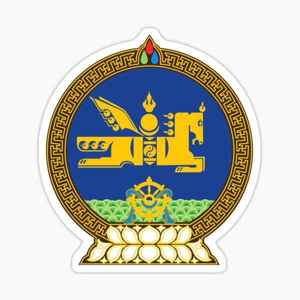 National Emblem of Mongolia  Sticker