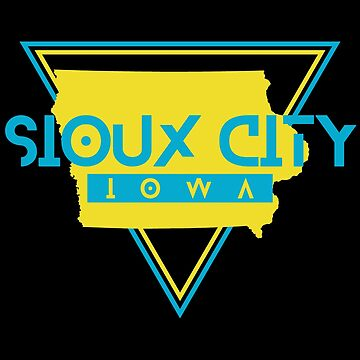 Sioux City Iowa Souvenirs IA Retro by fuller-factory