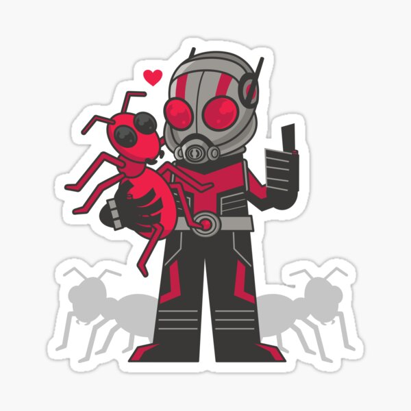 Ants dig him Sticker
