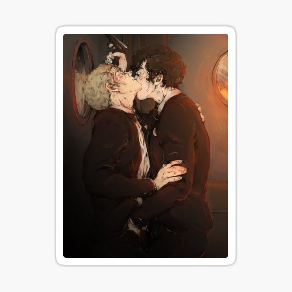 Sherlock: Desperate Kisses Sticker