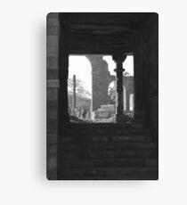 qutub remains Canvas Print