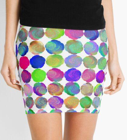 Space snowballs #fractal art Mini Skirt