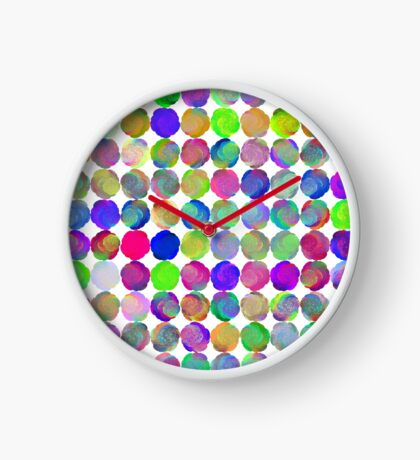Space snowballs #fractal art Clock