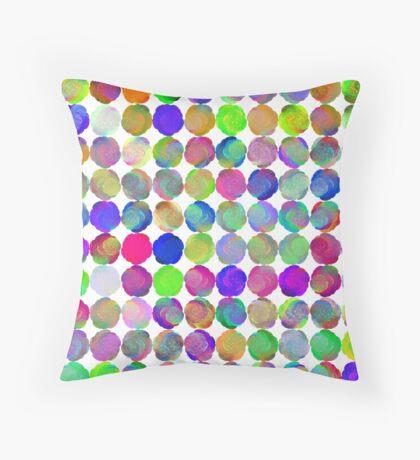 Space snowballs #fractal art Floor Pillow