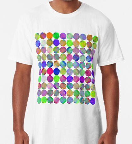 Space snowballs #fractal art Long T-Shirt