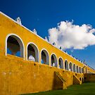 Convent at Izamal by Zane Paxton
