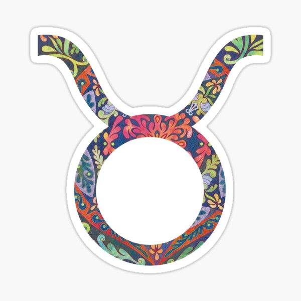 Taurus Star Sign Sticker