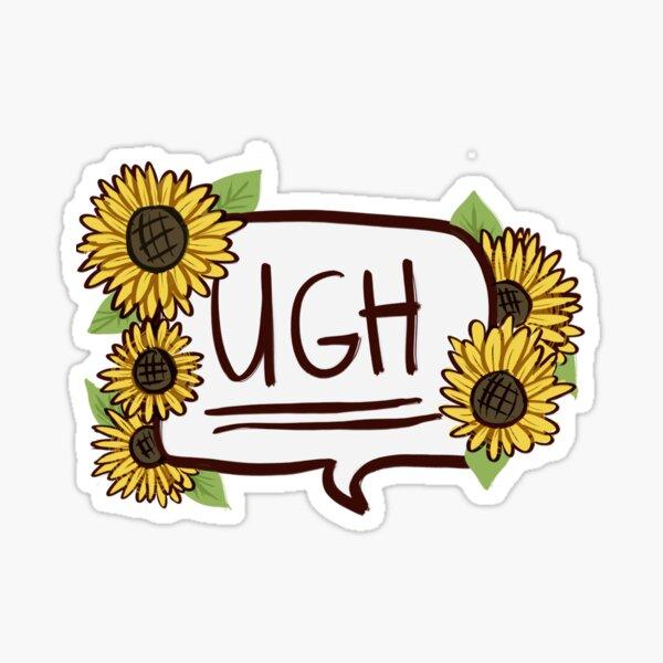 UGH Sticker