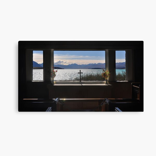 Through the Altar Window Canvas Print