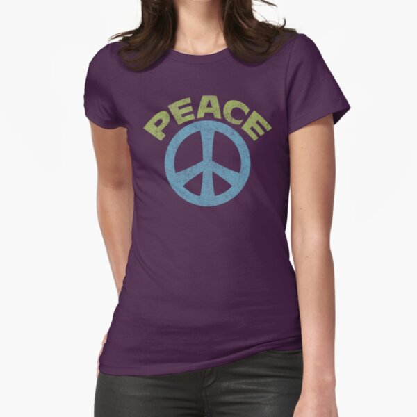 Peace (Sign) Fitted T-Shirt