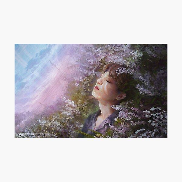 BTS Springtime Jungkook Photographic Print