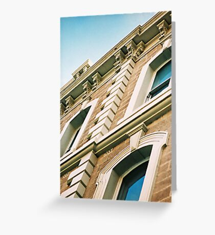 """""""Currie Street"""" Greeting Card"""