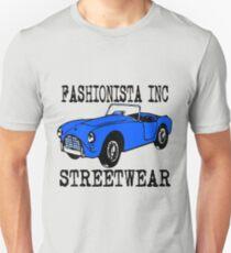 Fashionista Auto Blue Unisex T-Shirt