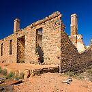 Waukaringa Ruins, SA by Richard  Windeyer