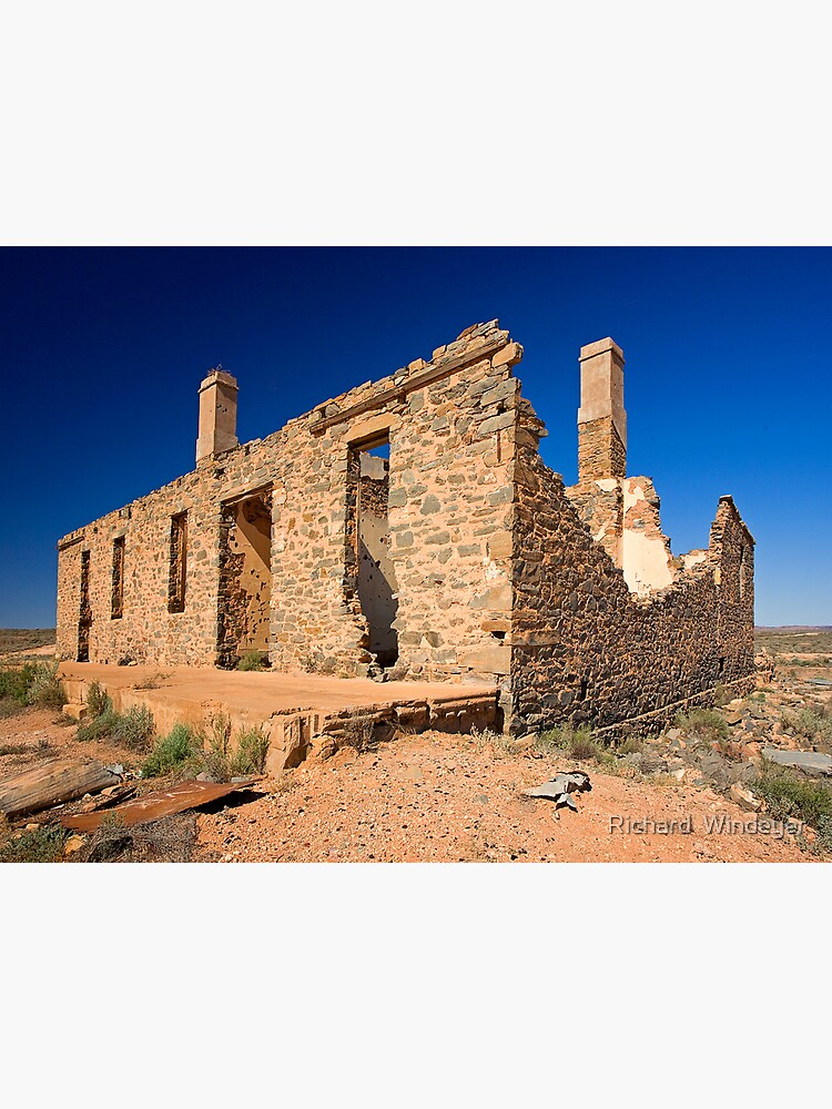 Waukaringa Ruins, SA by RICHARDW