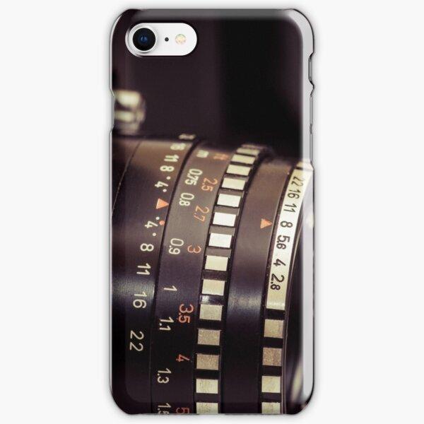 Fotografie - 2 analoge Kamera in Perspektive iPhone Leichte Hülle