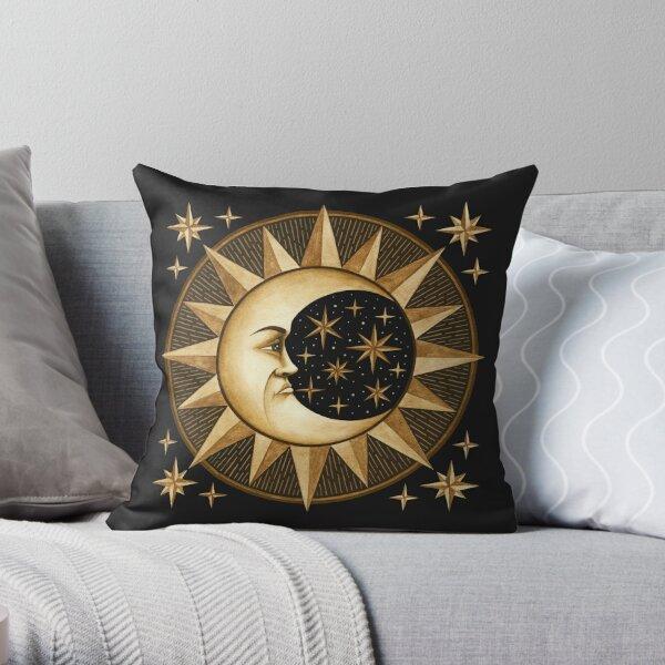 Ancient Moon Throw Pillow