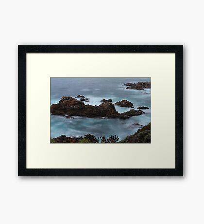 Moss Cove California Framed Print