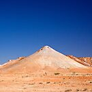 Cone Hill, Breakaways, Coober Pedy, SA by Richard  Windeyer