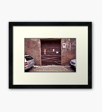 Way In Framed Print