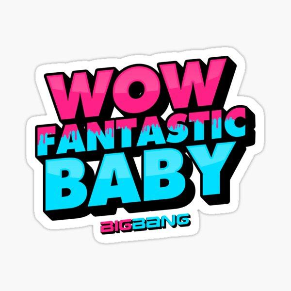 WOW FANTASTIC BABY Sticker