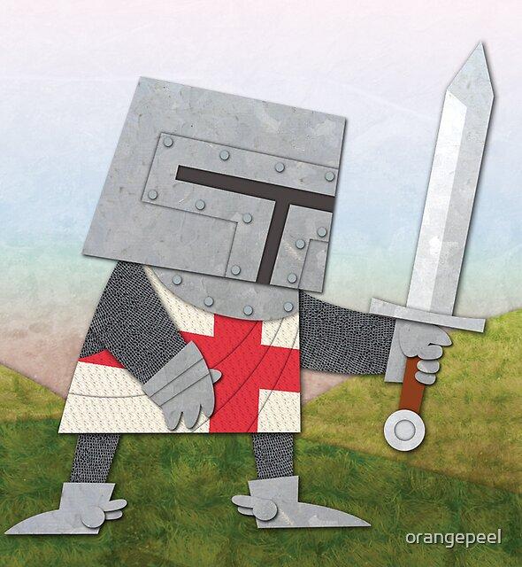 Knight Greeting Card by orangepeel